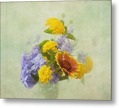 Garden Bouquet Metal Print by Kim Hojnacki