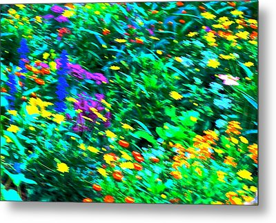 Garden Breeze Metal Print