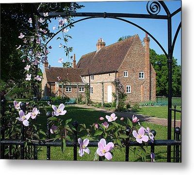 Garden  Cottage Metal Print by Stephen Norris