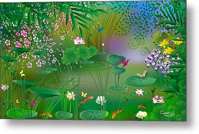 Garden - Limited Edition 1 Of 20 Metal Print