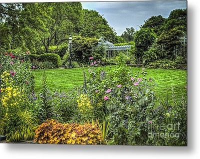 Metal Print featuring the photograph Garden In Bloom by Vicki DeVico