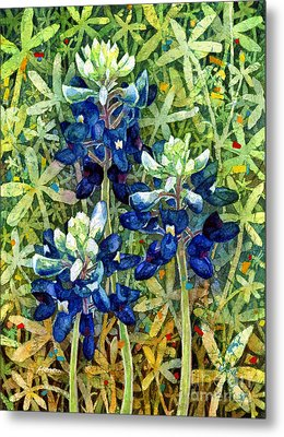 Garden Jewels I Metal Print by Hailey E Herrera