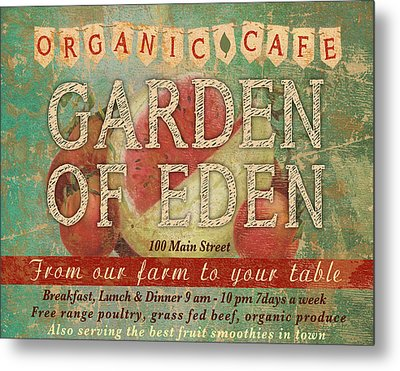 Garden Of Eden Metal Print by Marilu Windvand
