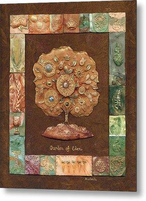 Garden Of Eden Metal Print by Michoel Muchnik
