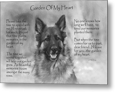 Garden Of My Heart Metal Print