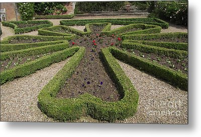 Garden Of Peace Metal Print by Tracey Williams