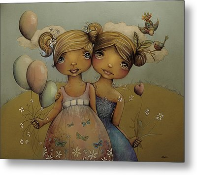 Garden Party Metal Print by Karin Taylor
