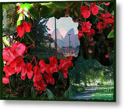 Metal Print featuring the photograph Garden Whispers by Leanne Seymour