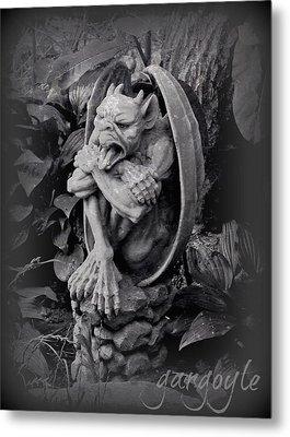 Gargoyle Metal Print by Brenda Conrad