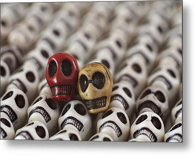 Garnet And Gold Metal Print by Mike Herdering