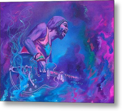 Gary Clark Jr. Metal Print