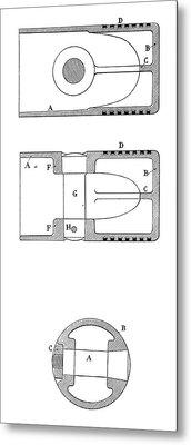 Gas Engine Piston Metal Print