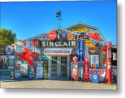 Gasoline Alley Metal Print by Steve Stuller