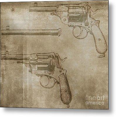 Gasser Model 1873 Metal Print by Steven Parker