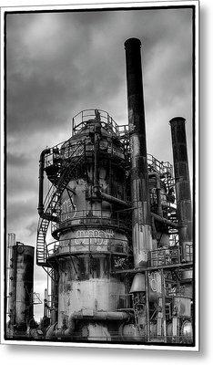 Gasworks Park Metal Print by David Patterson
