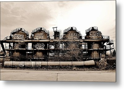 Gasworks Seattle Metal Print by Benjamin Yeager
