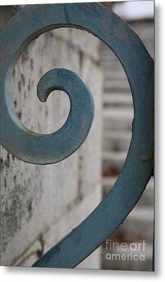 Gate Detail ...versailles Metal Print by Lynn England