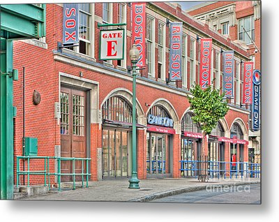 Gate E Metal Print by Clarence Holmes