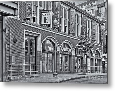 Gate E II Metal Print by Clarence Holmes