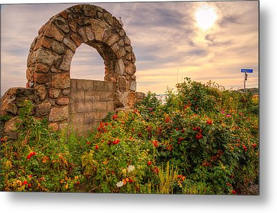 Gate To Nowhere  Metal Print by Eti Reid