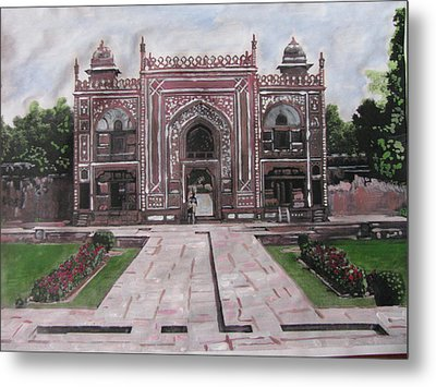 Gate Metal Print by Vikram Singh