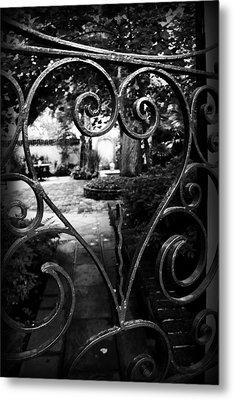 Gated Heart Metal Print