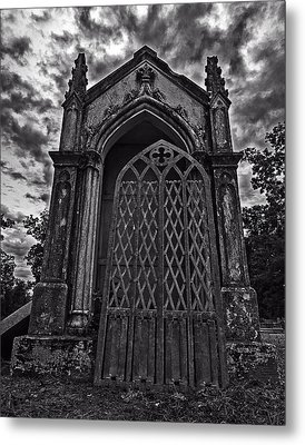 Metal Print featuring the photograph Gates Of Hades by Andy Crawford