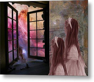 Gates Of Heaven-regarder La Fin Du Monde Metal Print