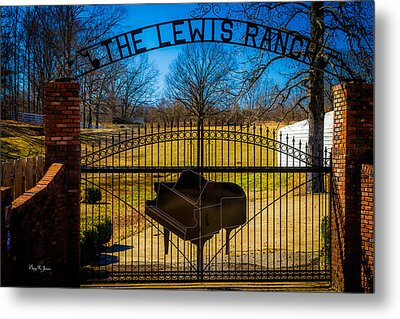 Gates Of Rock And Roll Metal Print