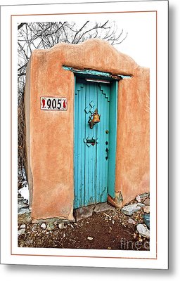 Gates Of Santa Fe II Metal Print