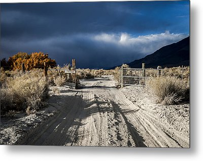 Gate's Open Metal Print by Cat Connor
