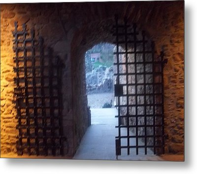 Gateway And Portcullis Metal Print