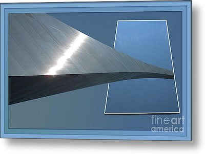 Gateway Arch St Louis 06 Metal Print by Thomas Woolworth