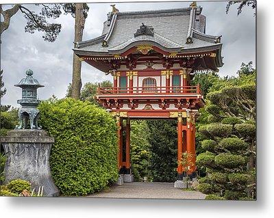 Gateway - Japanese Tea Garden - Golden Gate Park Metal Print
