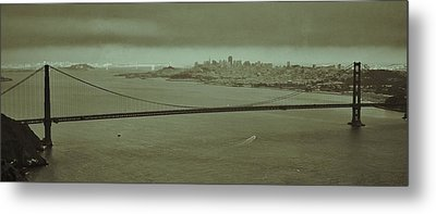 Gateway To The Bay Metal Print by Dave Hall