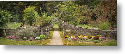 Gateway To The Garden Metal Print