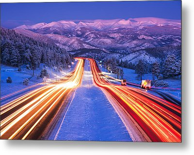 Gateway To The Rockies Metal Print by Darren  White