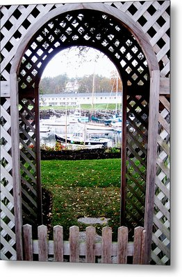 Gateway To The Sea Metal Print by Will Boutin Photos