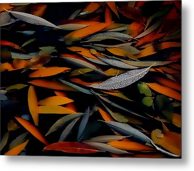 Gathering Of Autumn  Metal Print by Steven Milner