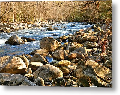 Gatlinberg River Metal Print