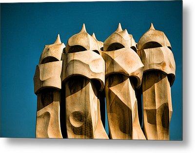 Gaudi's Soldiers  Metal Print by Joanna Madloch