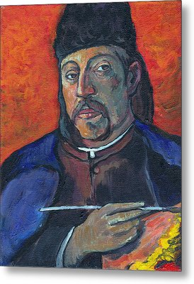 Gauguin Metal Print by Tom Roderick