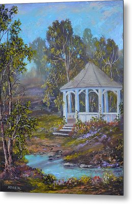 Gazebo And A Dream Metal Print