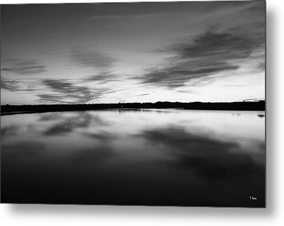 Peaceful Sunset Metal Print by Thomas Leon