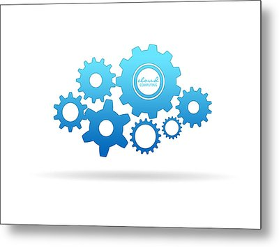 Gear Clout Metal Print by Aged Pixel