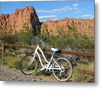 Geared Up Metal Print by Jean Marie Maggi