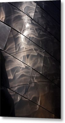 Gehry Magic Metal Print by Rona Black