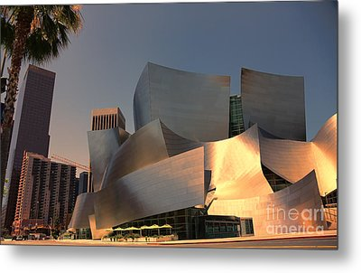 Gehry Tones Metal Print by Chuck Kuhn