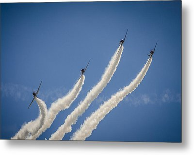 Metal Print featuring the photograph Geico Sky Typers 2 by Bradley Clay