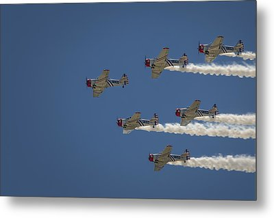 Metal Print featuring the photograph Geico Sky Typers  by Bradley Clay